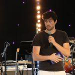 Annonce du Festival La Grange par Sylvain Béral, organisateur du festival